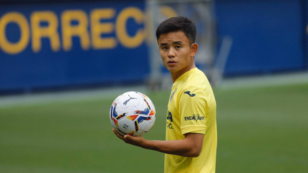 """Kubo:-""""I-got-tired-of-running-after-the-ball-against-Villarreal-now-I'll-be-with-them"""""""