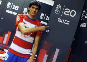 Oficial: Vallejo se marcha cedido otra temporada al Granada 1