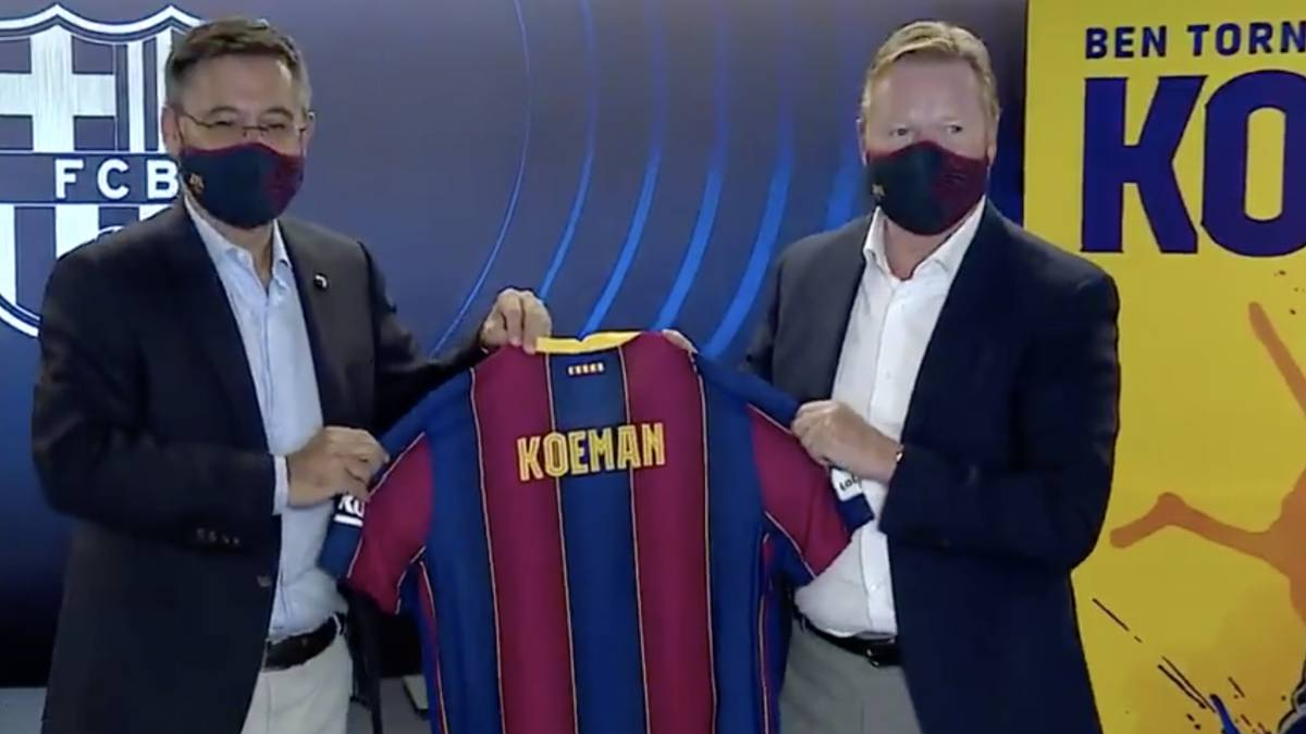 Presentation-of-Ronald-Koeman-with-Barcelona-live