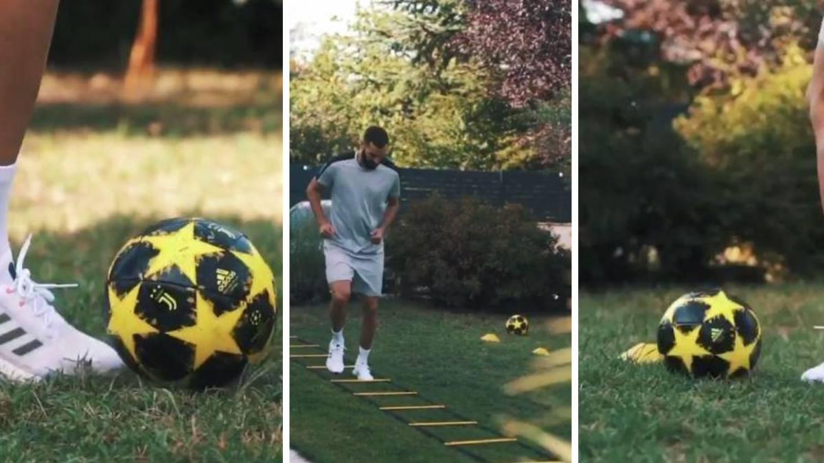 Benzema's-nod-to-Juve