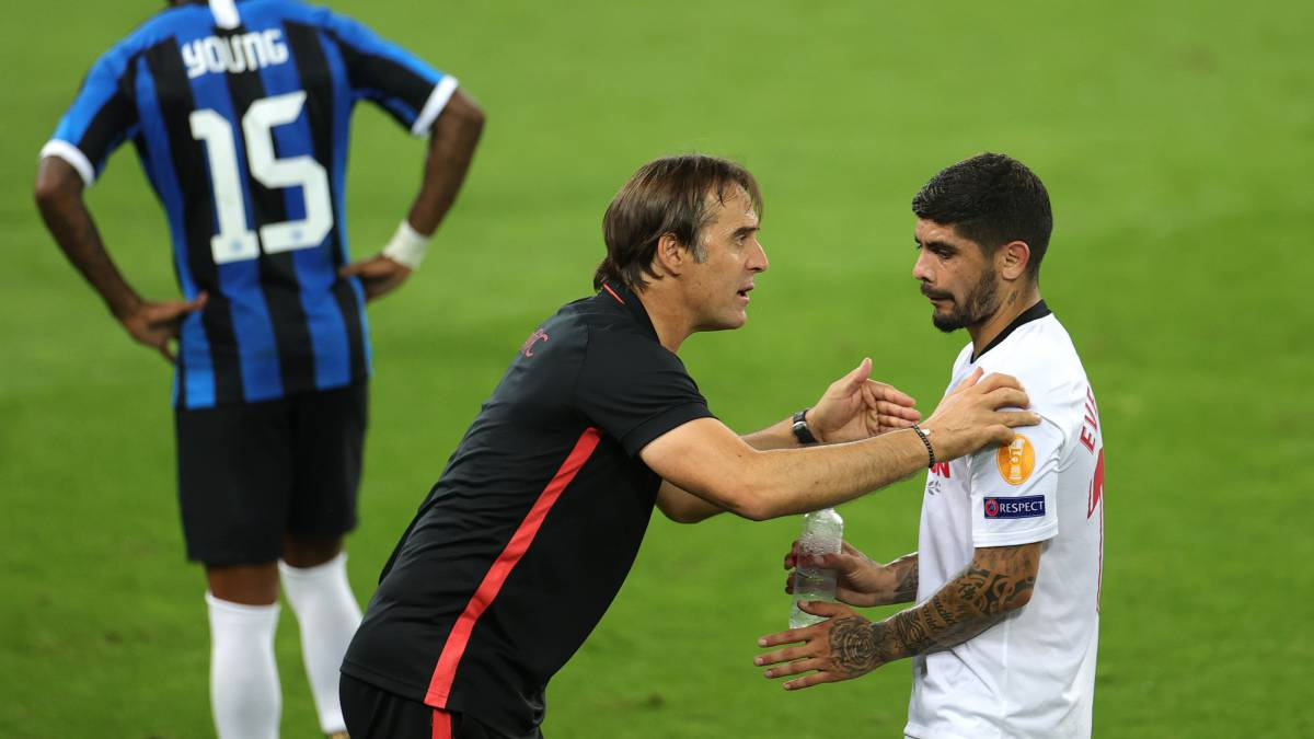 """Banega:-""""Lopetegui-put-the-batteries-in-me-and-I-thank-him"""""""