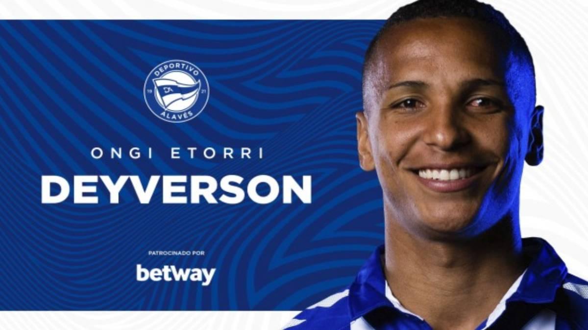 Alavés-obtains-the-loan-of-Deyverson-from-Palmeiras
