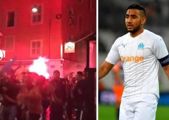 La derrota del PSG desata la fiesta en Marsella