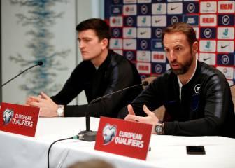Sterling y Maguire ponen en jaque a Inglaterra