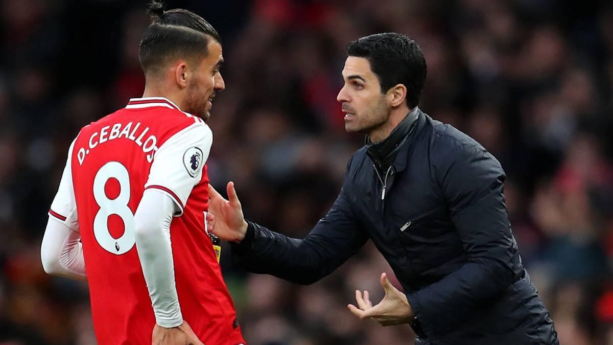 "Arteta:-""Ceballos's-intention-was-to-stay-at-Arsenal"""
