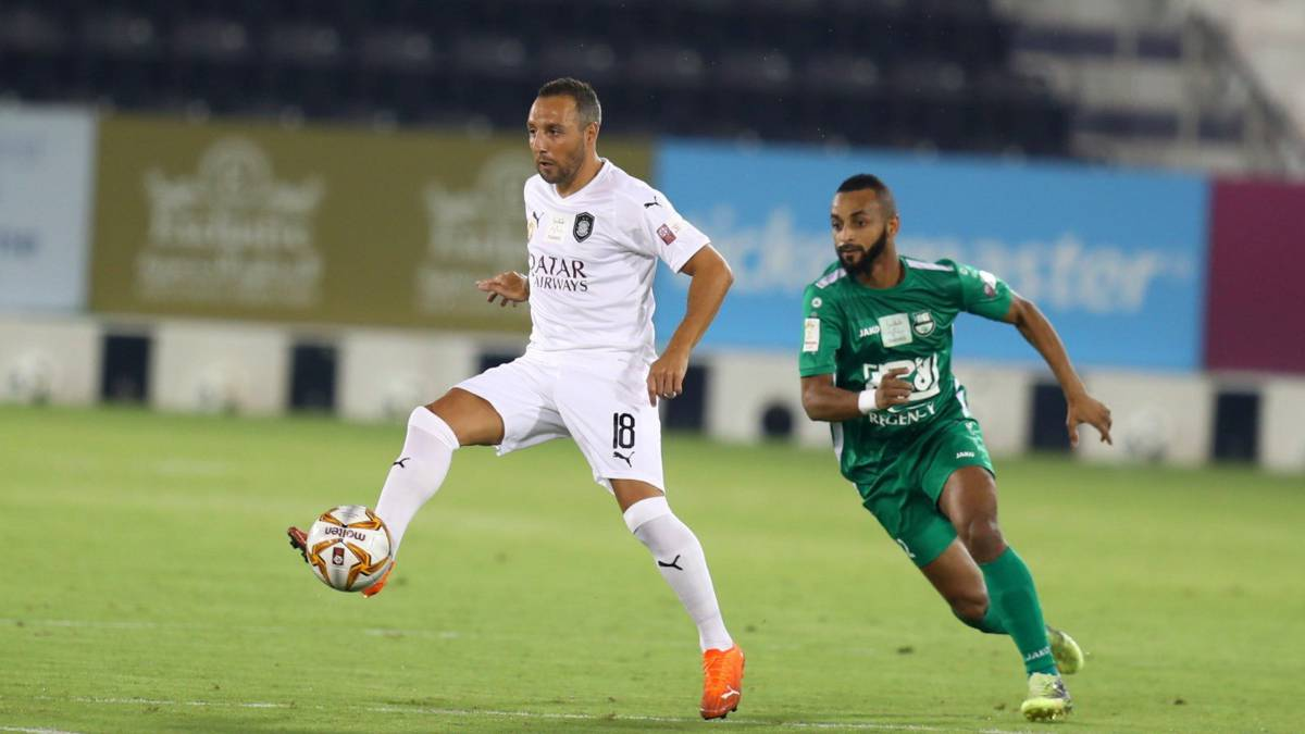 Cazorla-makes-his-debut-scoring-and-puts-Al-Sadd-in-the-Cup-final