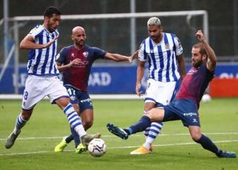 Reparto de sensaciones positivas en Zubieta entre Real y Huesca