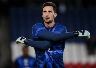 Sergio Rico no jugará el partido aplazado contra el Lens