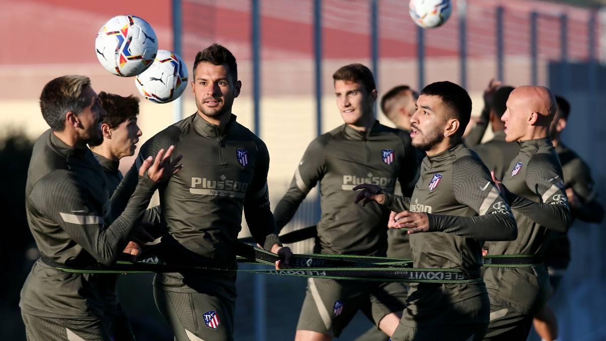 Atlético-returns-from-Segovia-for-a-positive-in-coronavirus