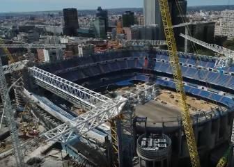 Desde el día 1 hasta hoy: el espectacular vídeo de cómo ha ido cambiando el Bernabéu