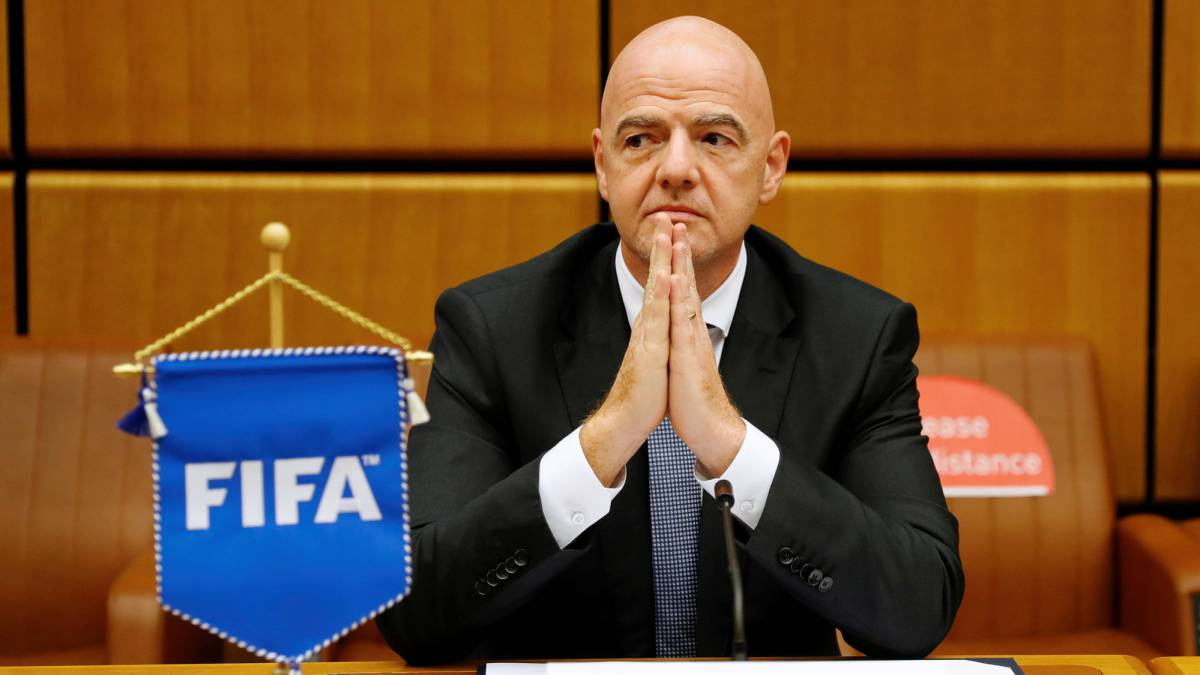 """Infantino:-""""In-the-new-FIFA-money-no-longer-disappears"""""""