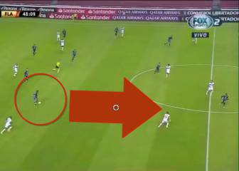 """""""¡No puede ser! Mirad el gol que hace, está 'enfermo"""": el golazo de un lateral que tiene loca a toda Sudamérica"""