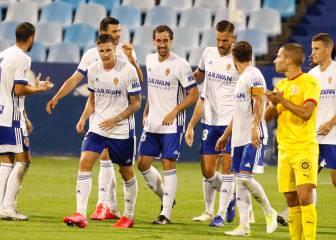 El Zaragoza coge confianza frente a un buen Girona