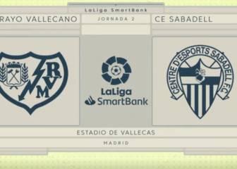 El Rayo remonta al Sabadell 1