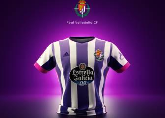 Los aficionados eligen la camiseta del Valladolid como la más bonita de LaLiga