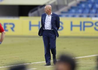"""Pepe Mel trata de """"puto desastre"""" el césped del Estadio de Gran Canaria y Barranco Seco"""
