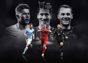 La UEFA 'jubila' a Messi y Cristiano
