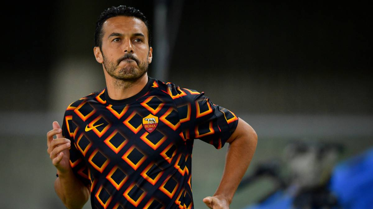 """Pedro-aims-to-""""return-to-the-Champions-League""""-with-Roma"""