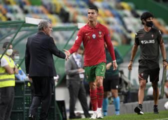 """Fernando Santos: """"Cristiano está bien y sólo dice que quiere jugar"""""""