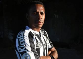 Robinho crea un problema al Santos nada más llegar