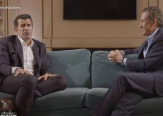 """Figo y su fichaje por el Madrid: """"A lo mejor Florentino ya sabía los resultados de las elecciones"""""""