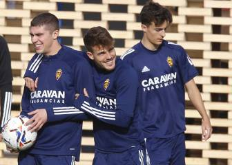 El Málaga pone a prueba el crecimiento del Zaragoza 1