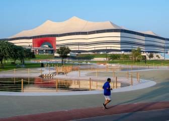 Nueva vista del estadio Al Bayt confirma su finalización 1