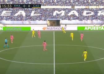 En el gol del Cádiz hay cosas que no se dijeron: de traca lo de Kroos, Marcelo y Modric...