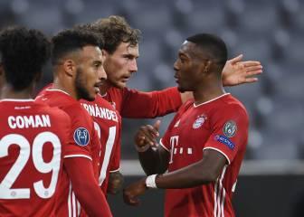 El Bayern de Múnich es mucho para el Atlético de Madrid