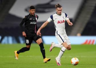 Carrusel de la Europa League: Bale y Reguilón tiran del Tottenham