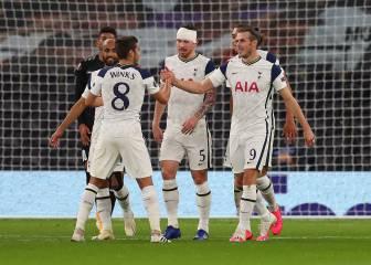 Bale y Reguilón tiran del carro del Tottenham de Mourinho