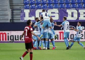 El Málaga salva el empate ante un Mirandés que fue superior 2