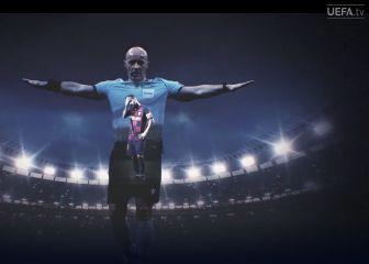 ARBITROS CHAMPIONS LEAGUE La mirada de la UEFA al oficio de los árbitros de la Champions: 'Man in the Middle' 1