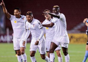 Sigue la última hora del Liga de Quito - Santos, en vivo 1
