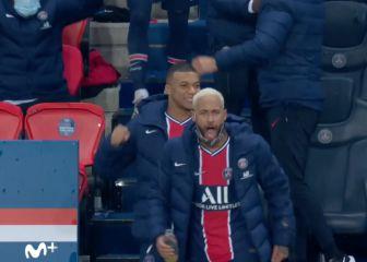La cosa está más que tensa en el PSG: el gesto de Neymar tras el pitido... 1