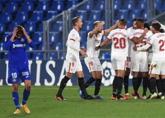 Getafe 0-1 Sevilla: resumen, resultado y gol | LaLiga Santander 1