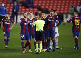 1x1 del Barça: Busquets y Mingueza dan la nota
