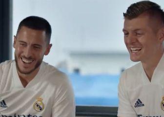Hazard, Kroos, Courtois y Asensio sorprenden a dos fans que no pudieron volar a Madrid por la pandemia 1