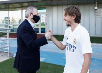 Real Madrid Modric pacta con el Madrid su renovación por una temporada 1