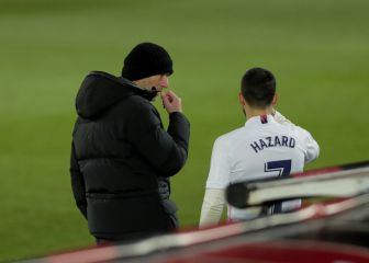 """Zidane: """"Con Hazard hay que tener paciencia. Poco a poco"""""""