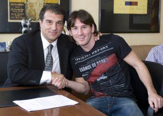 "Joan Laporta: ""La continuidad de Leo Messi es prioritaria"""