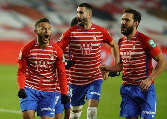 Luis Suárez pone al Granada a tiro de Europa