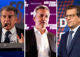 La presidencia del Barça es cosa de tres candidatos: ¿Quién crees que ganará?