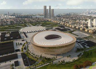 Se reveló la distancia más larga y más corta entre los estadios mundialistas y la ciudad Doha 1
