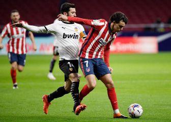 Atlético de Madrid - Valencia en directo hoy: LaLiga Santander, en vivo 1