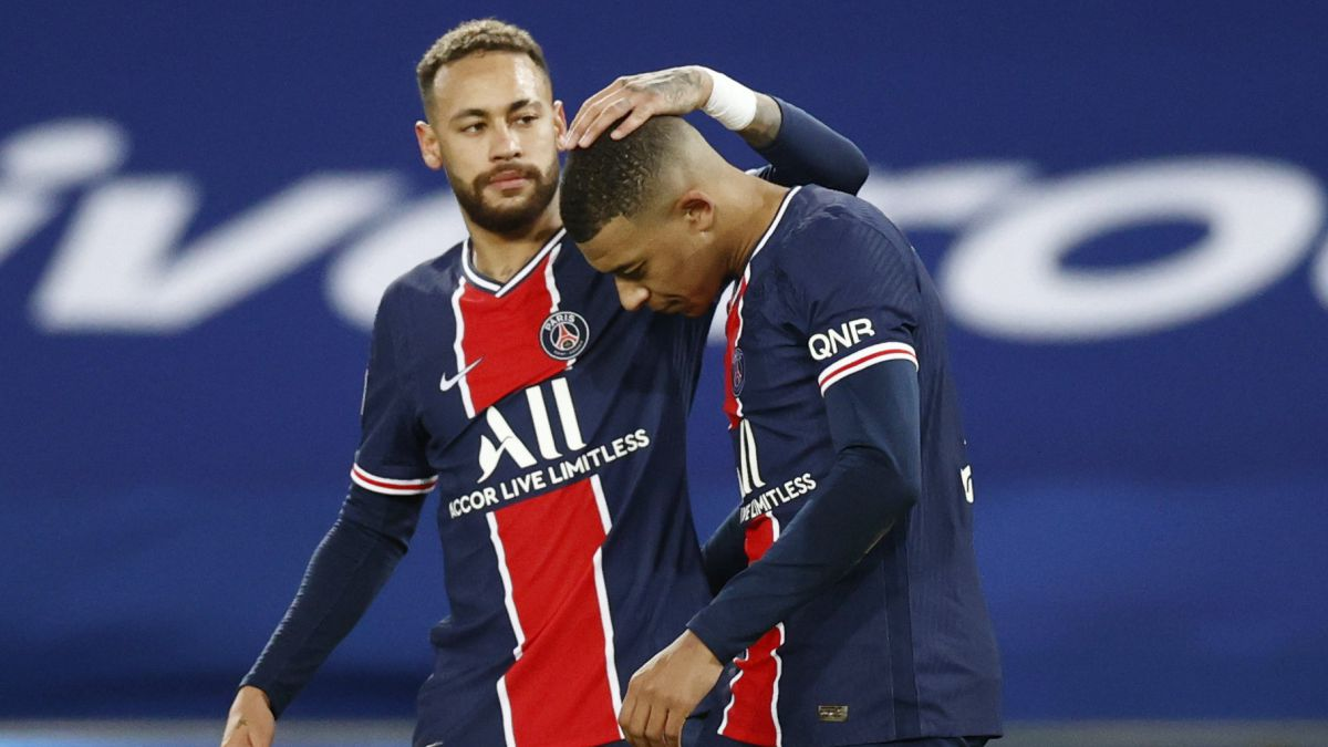 """Neymar:-""""I'm-staying-at-PSG-and-I-hope-Mbappé-will-too"""""""