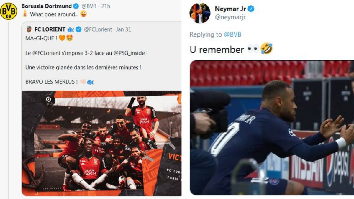 Neymar-and-Dortmund-continue-to-mock-on-social-networks