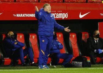"Koeman vuelve a mirar al árbitro: ""No pitó un penalti"""