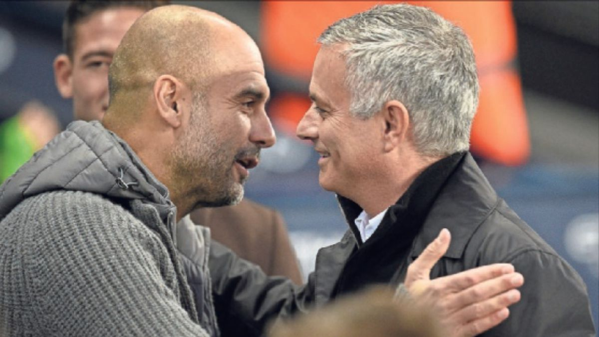 Guardiola-Mourinho-duel-with-different-objectives