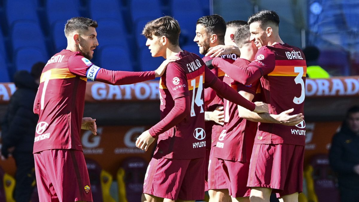 Starting-mayoral-Villar-jugón-and-Pedro's-great-goal:-Roma-smiles